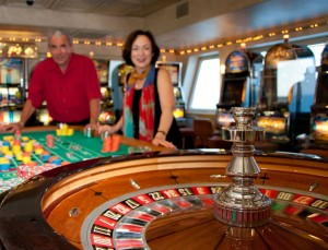 The Big M Casino Roulette Table