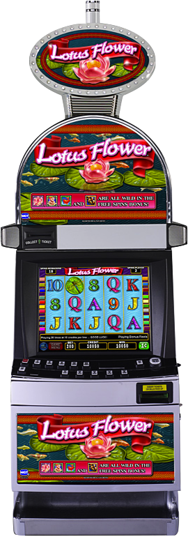 Lotus Flower Slot Machine