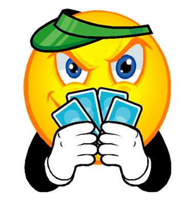 Poker Face Cards