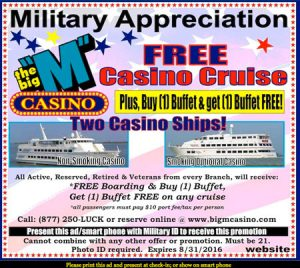 The Big \u0026quot;M\u0026quot; Casino Ships in Myrtle Beach Offer Day and Evening Cruises with Las Vegas Style ...
